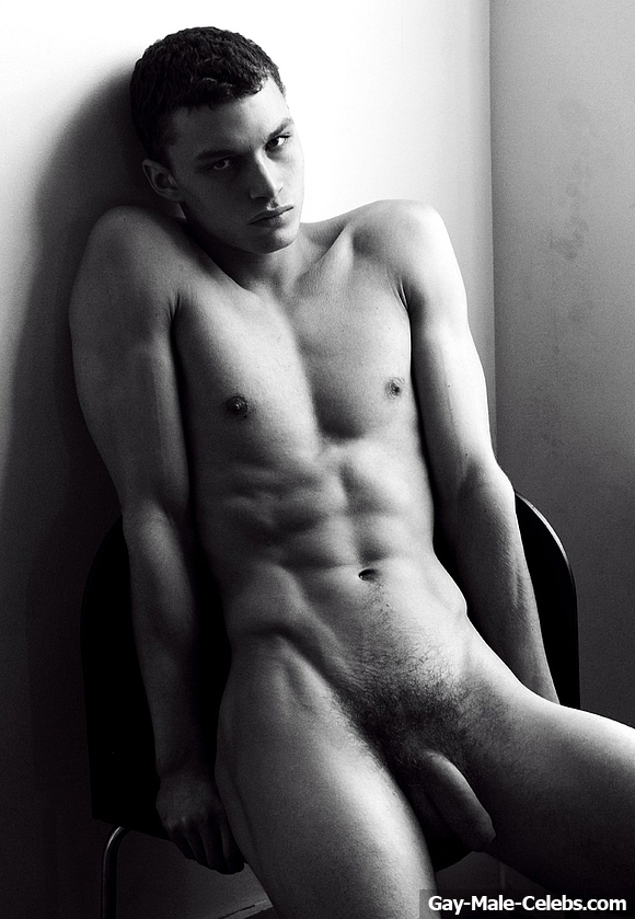 Lewis Mayhew Nude