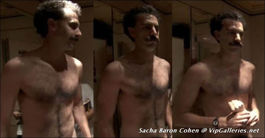 Sacha baron cohen is actually kind of ripped