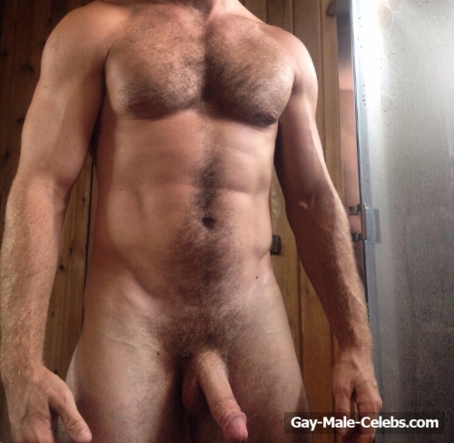 Matt Wilkas Full Frontal Nude And Underwear Selfie  Gay -1648