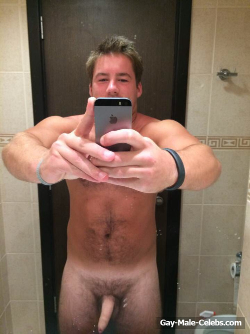 Rugby Star Tom Kinsey Leaked Cock And Asshole Selfie  Gay -3251