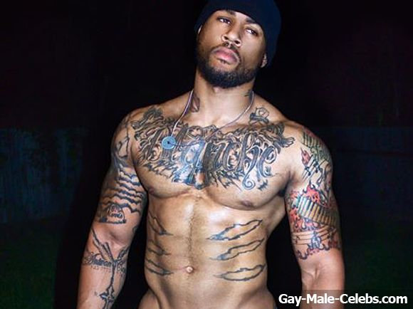 Black Male Model Sherrod Belton Frontal Nude Selfie Photos -2748