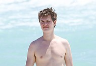 Ansel Elgort Nude