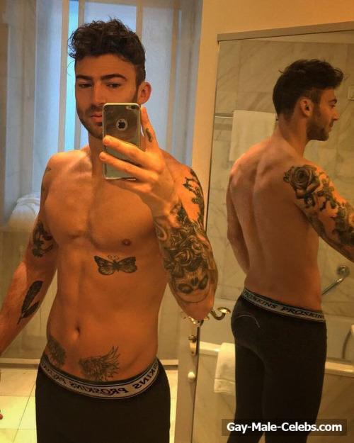 Jake Quickenden Leaked Frontal Naked Selfie