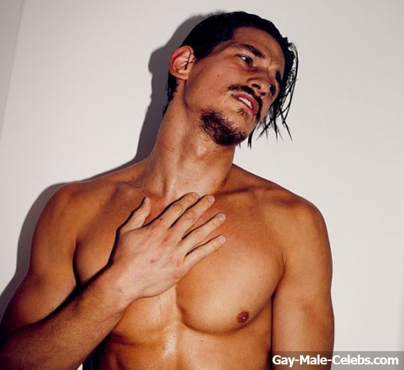 Jarrod Scott Frontal Nude And Underwear Photoshoot  Gay -9705