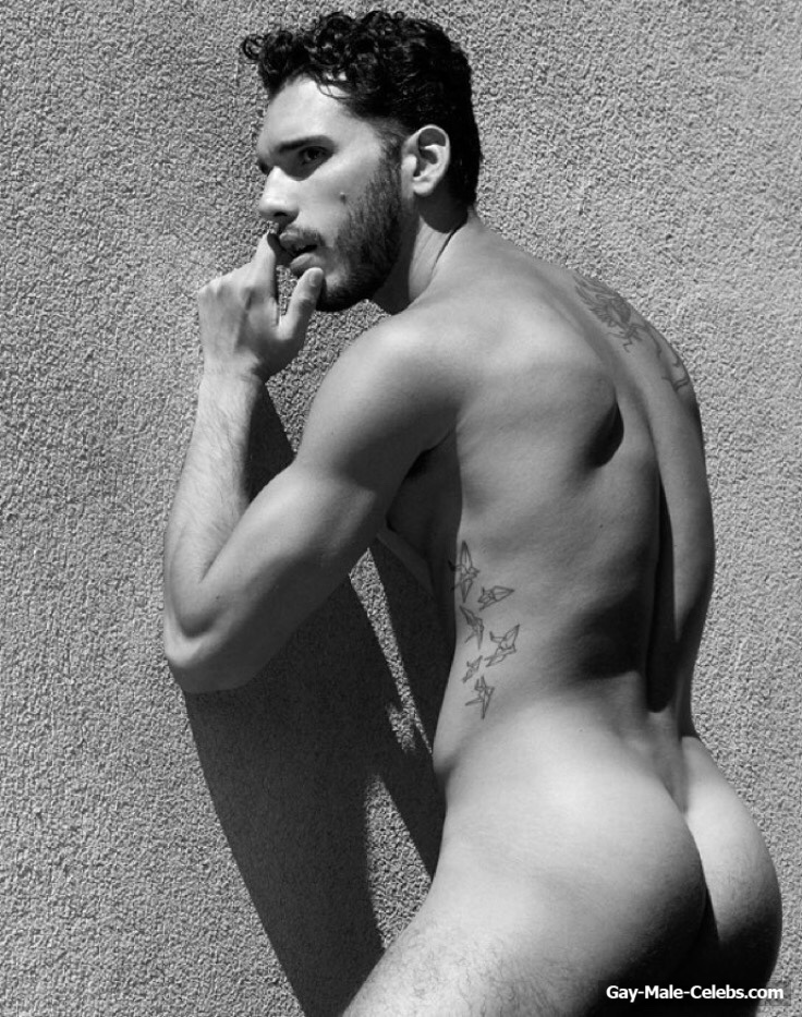 Alfredo Solivan Posing Naked And Underwear  Gay-Male -8835