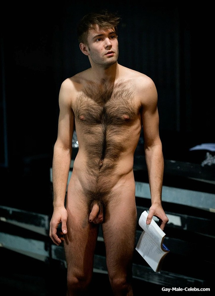 Actor Robin Causse Frontal Nude Stage Photos - Gay-Male -2372