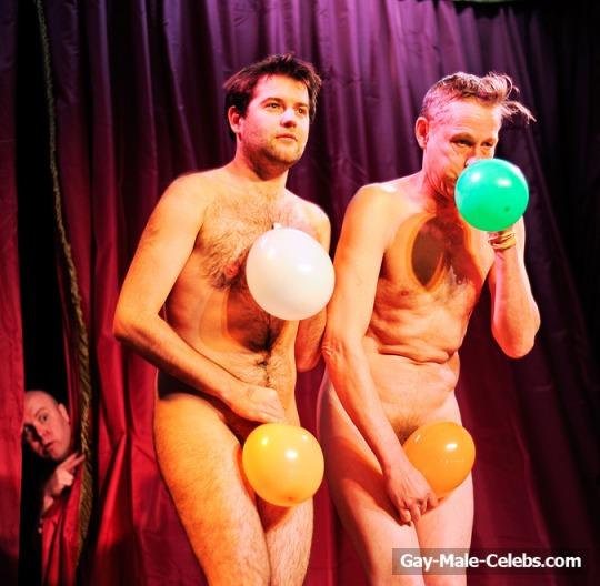 British Alternative Comedian Adam Larter Frontal Nude On -9635