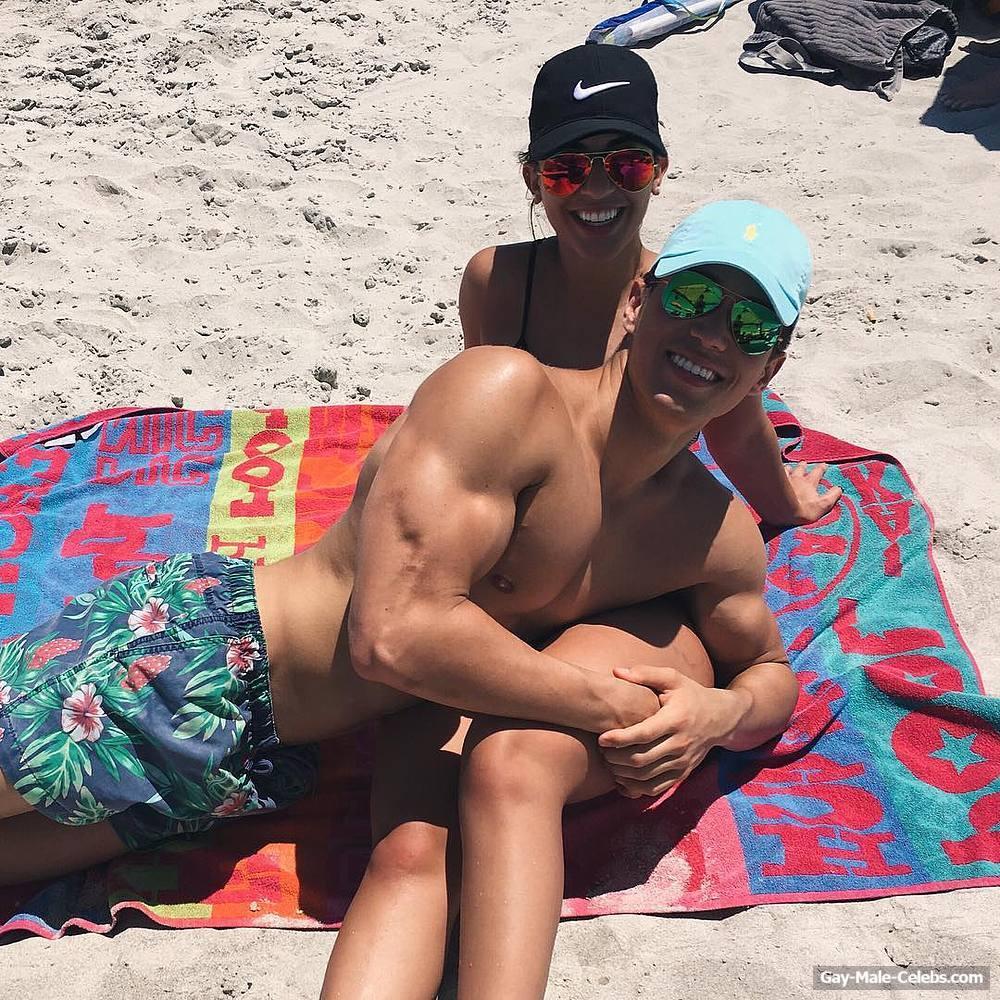Actor Brandon Larracuente Shirtless Sexy Selfie