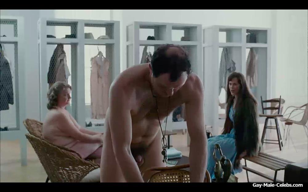 Actor Boris Mcgiver Frontal Nude Movie Scenes - Gay-Male -3408
