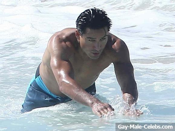 Mario Lopez Nude