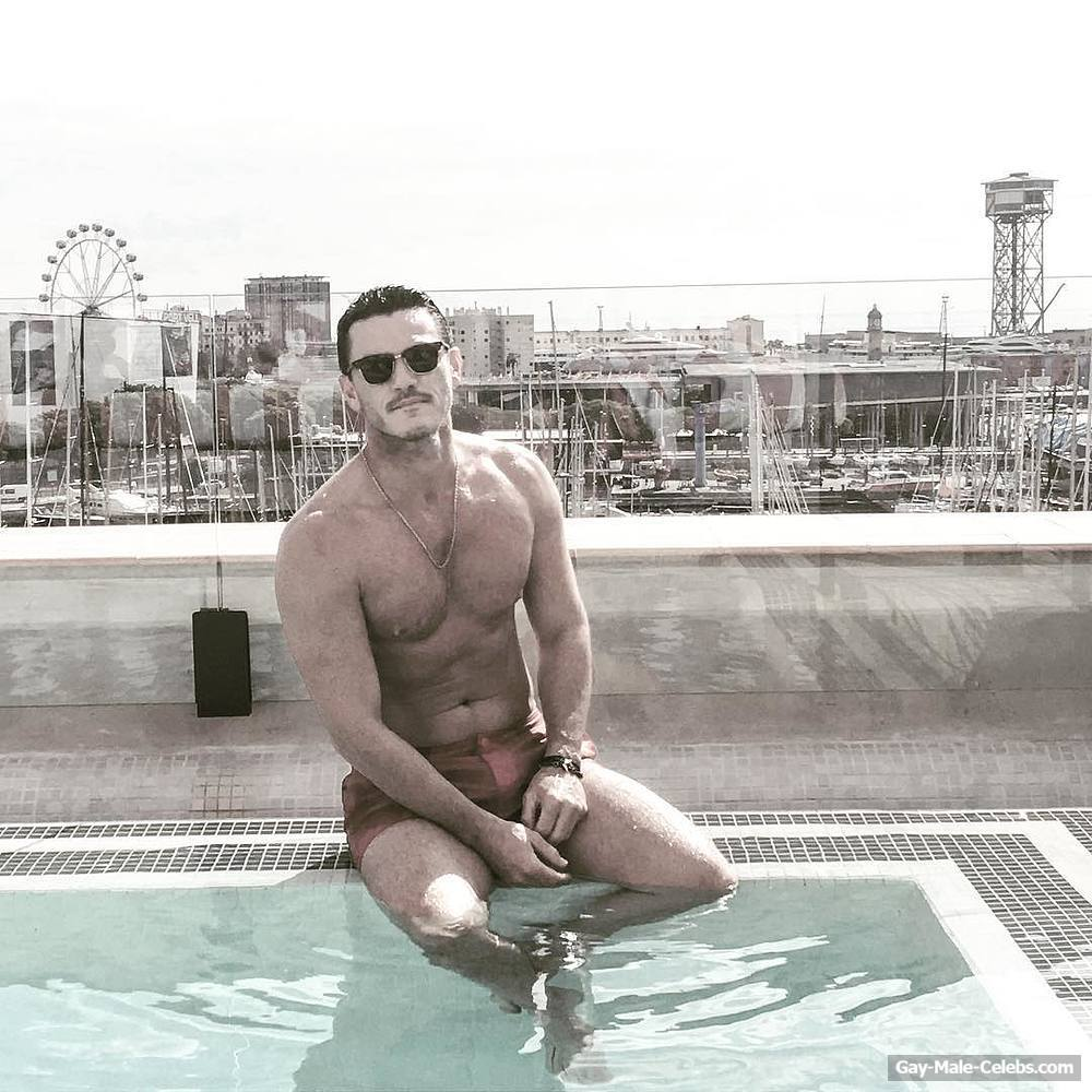 Luke Evans New Sexy And Shirtless Photos