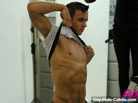 Tom Daley Nude