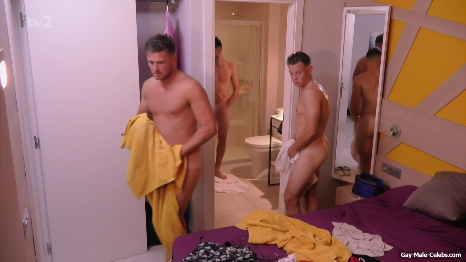 Dan, Ollie, Ash, And Austin Naked From Ibiza Weekender -7605
