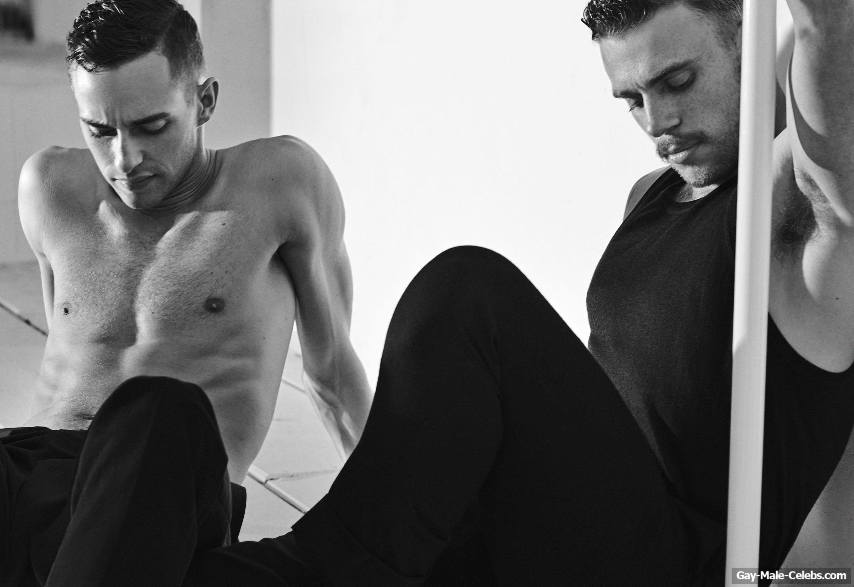Gus Kenworthy And Adam Rippon Sexy For Out Magazine Gay Male Celebs Com
