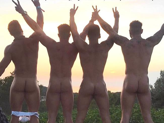 Sean Pratt nude