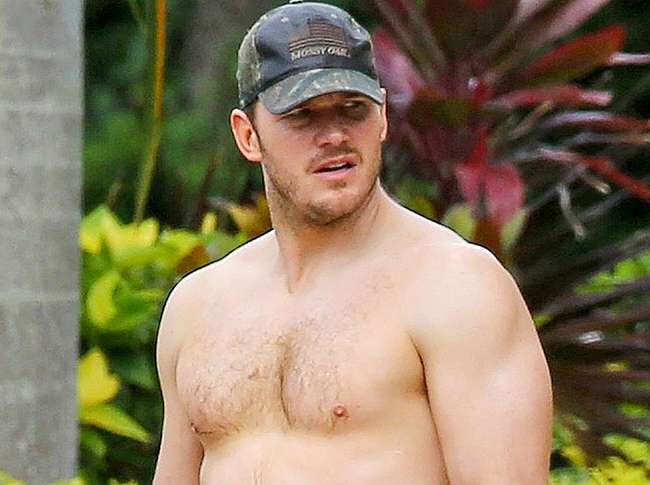 Chris Pratt nude