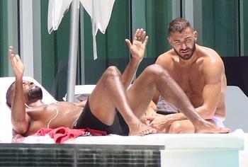 Karim Benzema nude