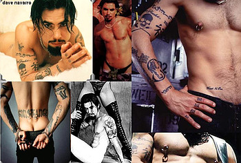 Dave Navarro nude