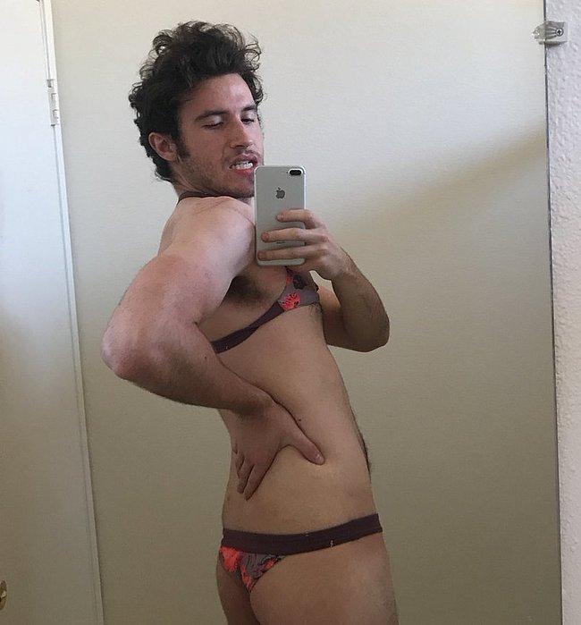 Brandon Calvillo nude