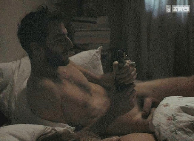 Nicolas Bachmann nude