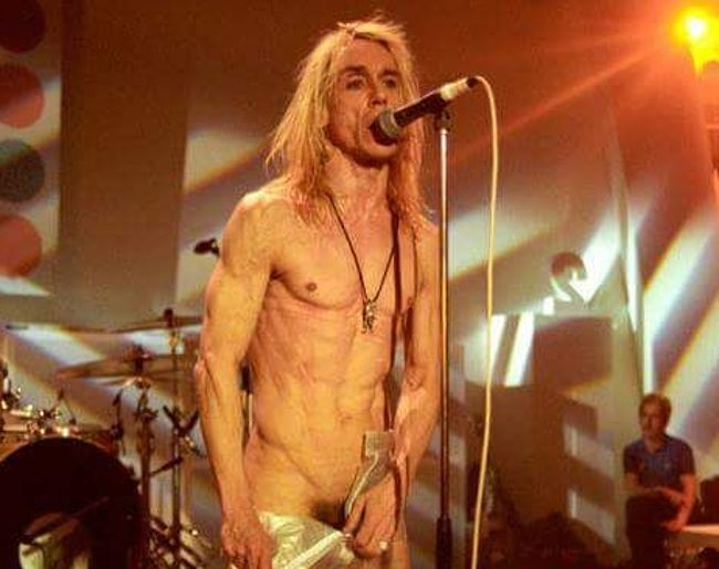 Iggy Pop nude