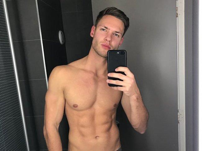 Tobias Reuter nude