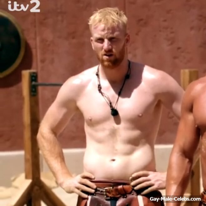 Reality Star From Tv Show Bromans Ginger Cal Frontal -3759