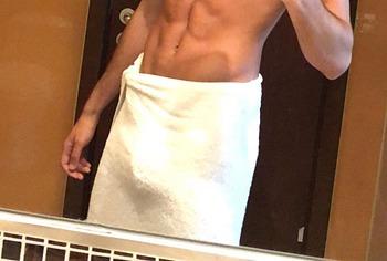 Xavier Serrano nude