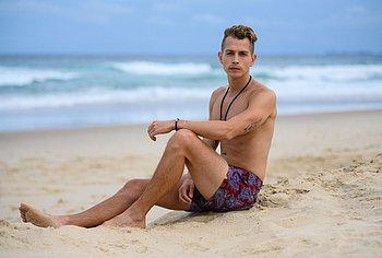 James McVey nude
