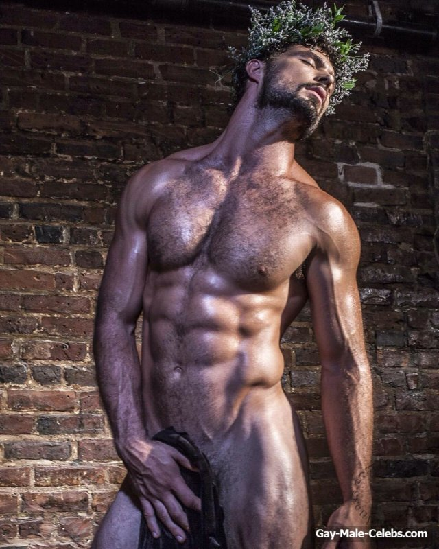 American Male Model Walter Savage Posing Naked And Sexy -6137