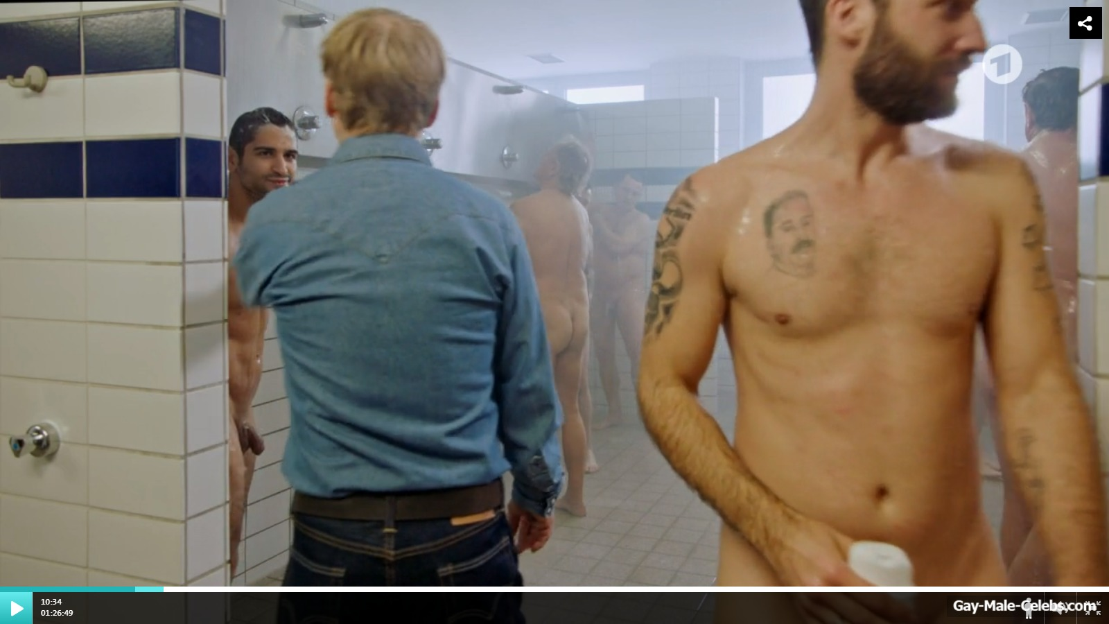 Oh!! Daniel Rodic Shows Off His Thick Penis In Movie