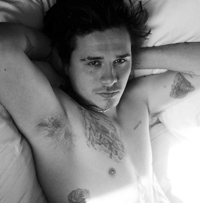 Brooklyn Beckham nude