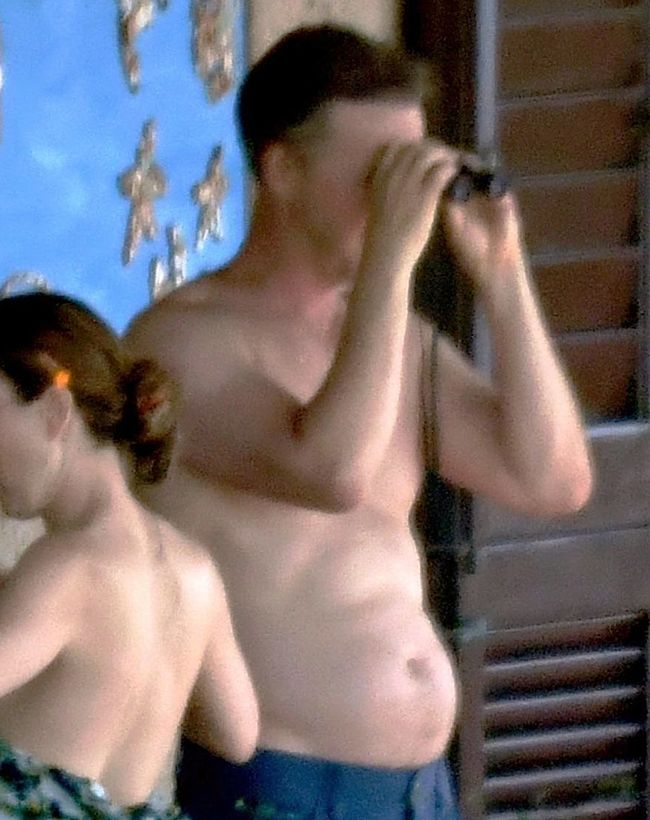 Edward Norton nude