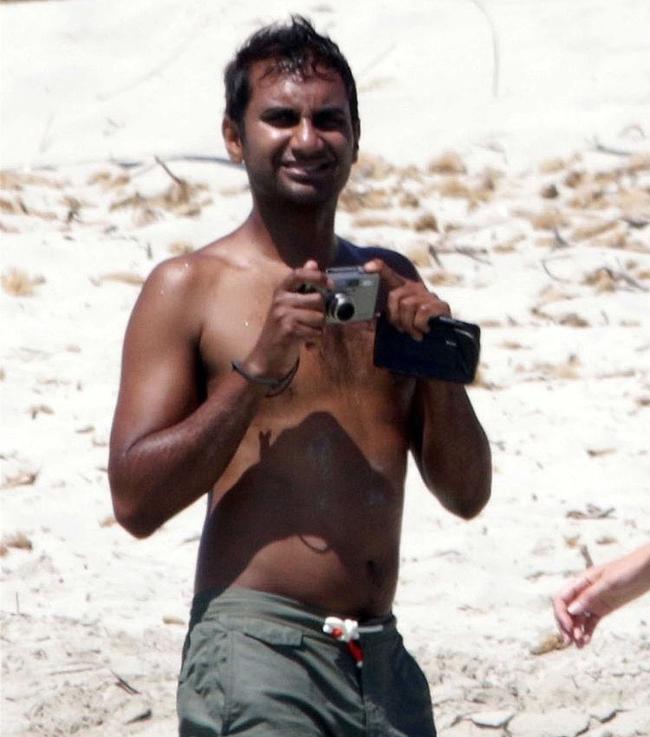 Aziz Ansari nude