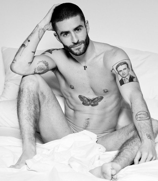 Pelayo Diaz nude