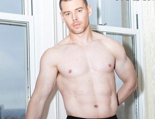 Brian J Smith nude