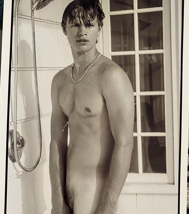 Ansel Elgort nude