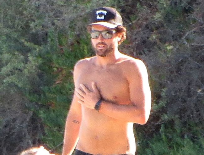 Brody Jenner shirtless