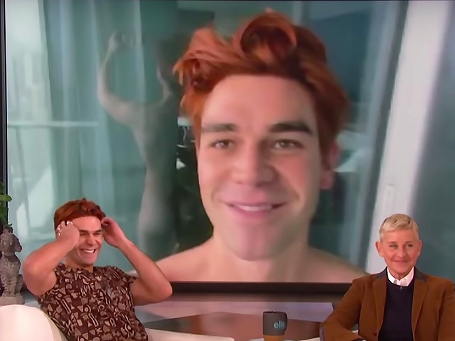 KJ Apa nude photos