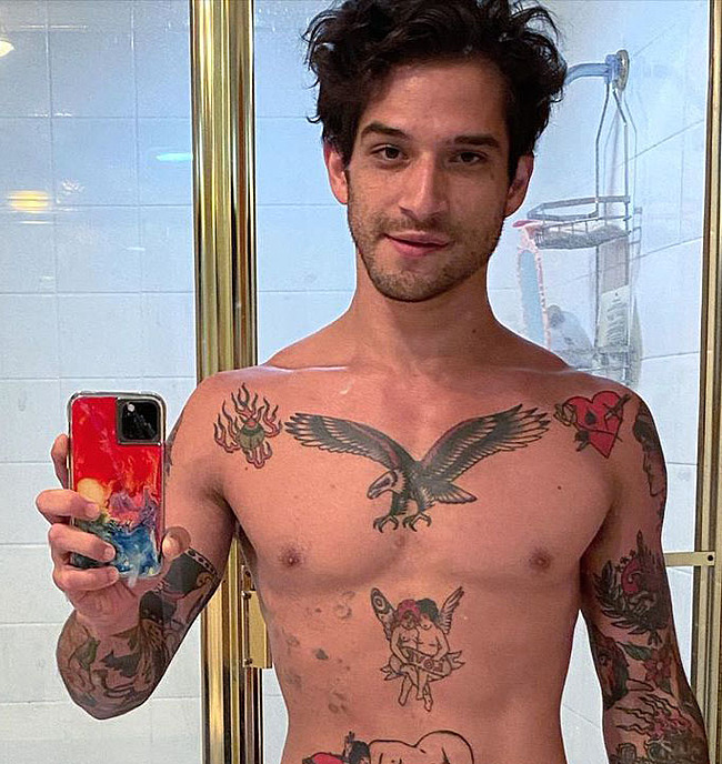 Tyler Posey nude cock