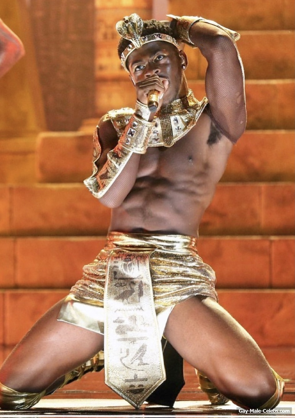 Lil Nas X Nude And Erotic Gay Moments