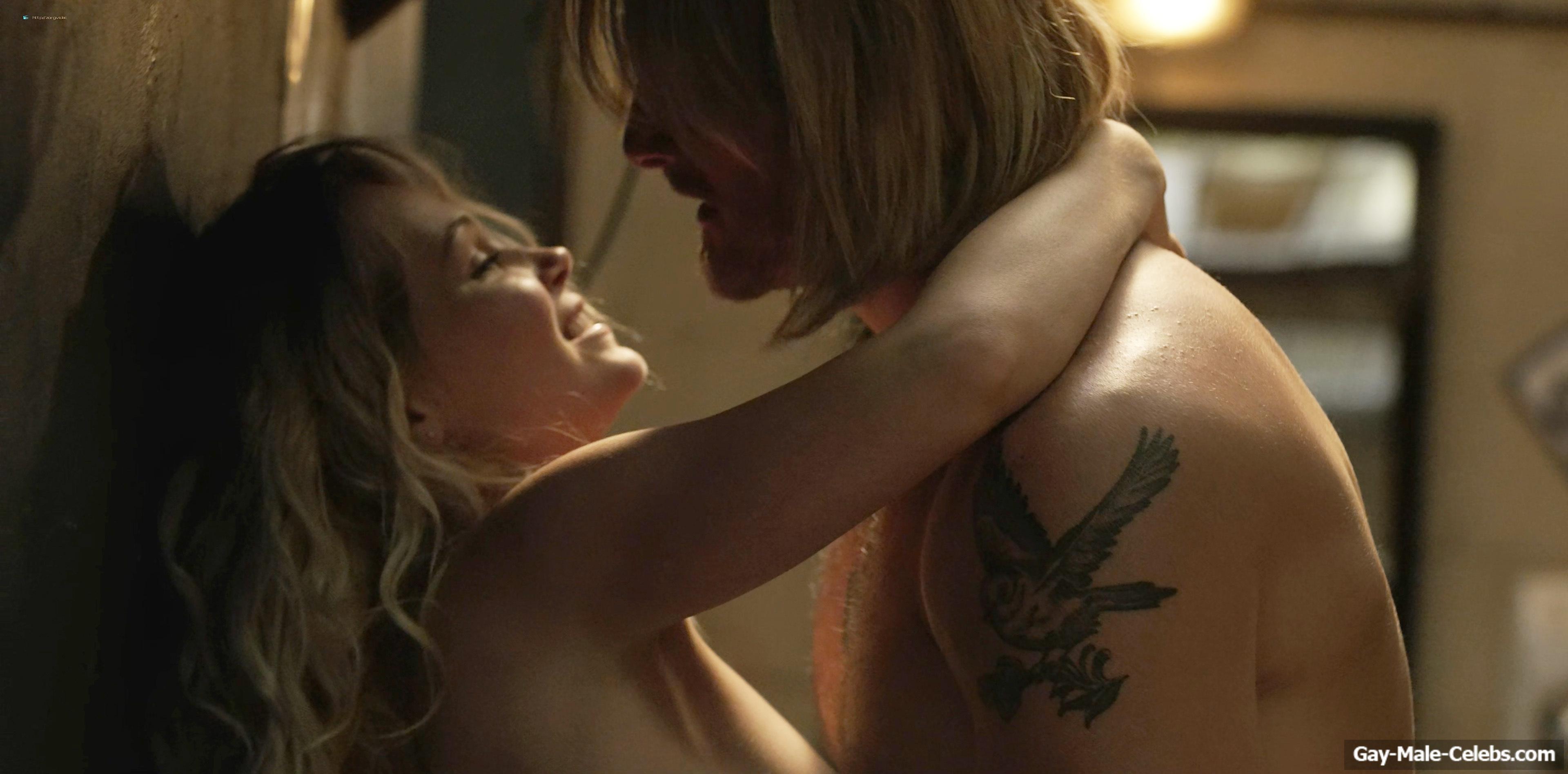 Alexander Ludwig Nude Sex Actions in Heels