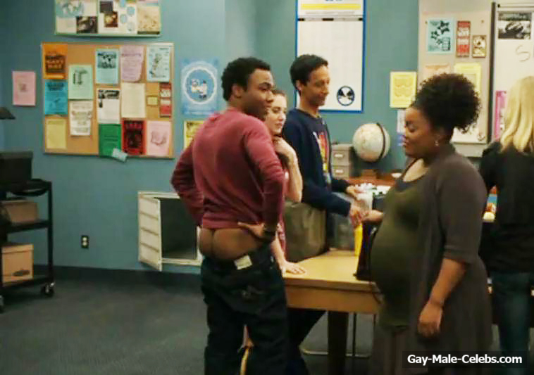 Donald Glover Nude And Sexy In Community