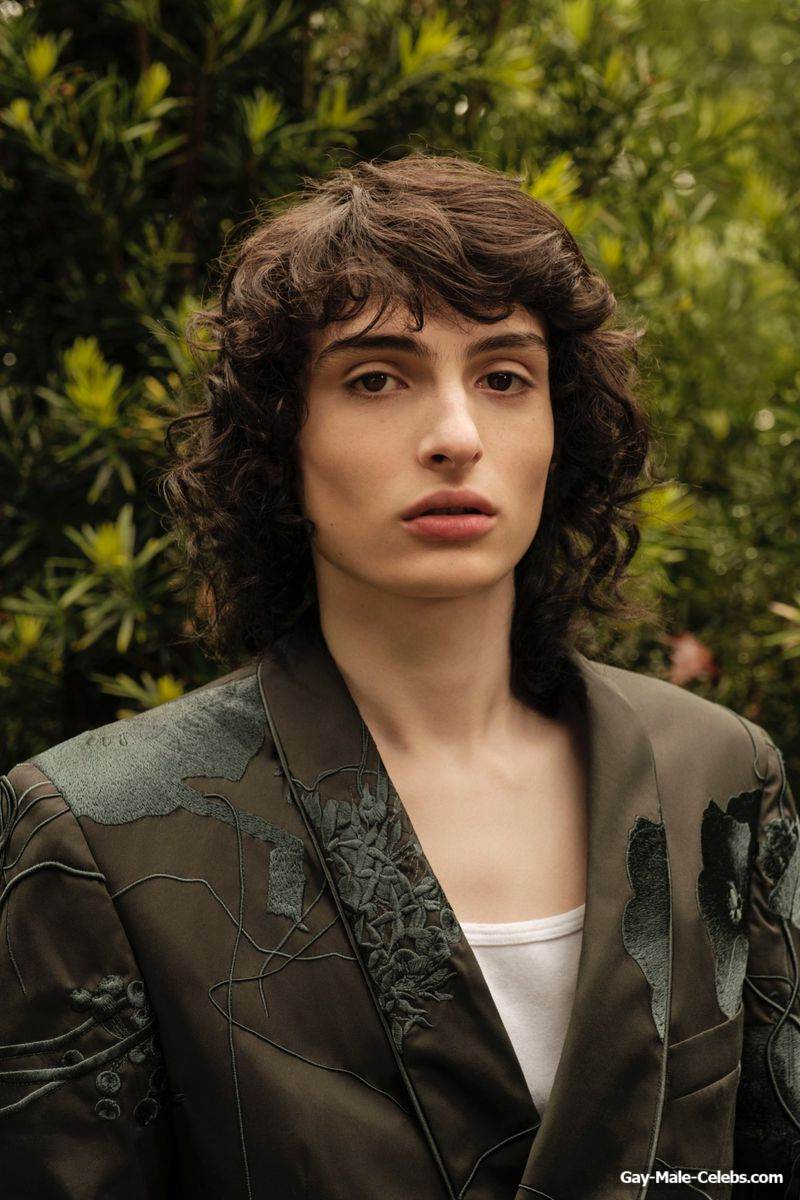 Finn Wolfhard Posing Sexy for Esquire Magazine