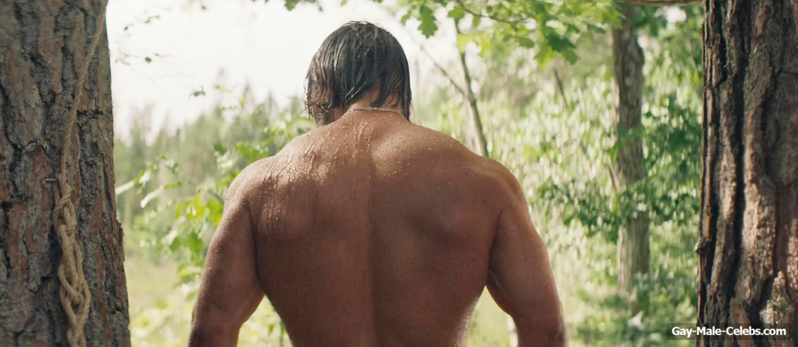 Daniel Stisen Nude Shower Scenes from Last Man Down